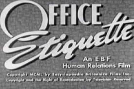 50 office etiquette